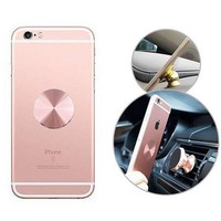 Metal Plate Magnetic Car Phone Holder Accessories Matte Stainless Iron Sheets Use For Magnet Phone 32*32mm Car Phone Holder