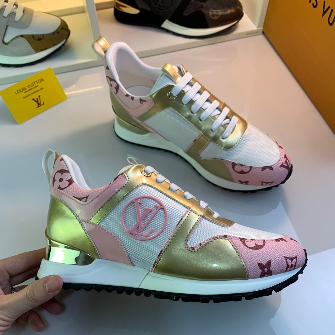 Image of lv louis vuitton womans mens 2020 new fashion casual shoes sneaker sport running shoes 259