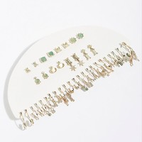 Tinsy Hoop And Stud Earring Set
