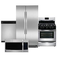 Kenmore 4 Piece Kitchen Package - Stainless Steel - Good - Appliances - Appliances Bundles - Kitchen Suites