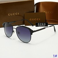 GUCCI New fashion polarized sun protection glasses eyeglasses men 1#