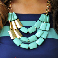 All About The Stones Necklace: Jade | Hope's