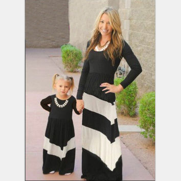 Mommy & Me black and white color matching
