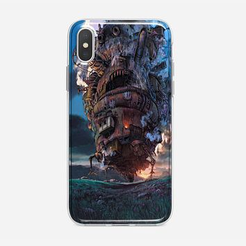 Howls Moving Castle Case iPhone XS Max Case