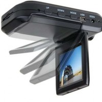 HD 720P 2.5-inch LCD Monitor CAR Dash Dashboard CAMERA Cam VEHICLE VIDEO Accident RECORDER DVR Support SD/MMC Memory Card : Up to 64GB