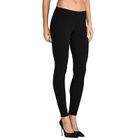 French Terry Legging, Black- Bestseller!