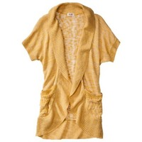 Mossimo Supply Co. Juniors Short Sleeve Shawl Cardigan - Assorted Colors