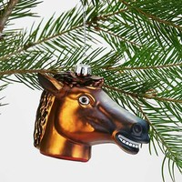 Horse Head Ornament- Assorted One