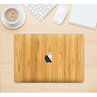 """The Light Bamboo Wood Skin Kit for the 12"""" Apple MacBook"""