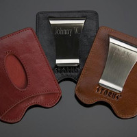 Personalized Storus 2-in-1 Money Clip/Card Holder