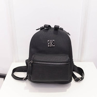 2016 New Arrive Pu Leather Women Backpack Korean Fashion Small Backpack Leisure Travel Bag Big Enough For Ipad