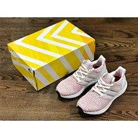 Adidas Ultra Boost UB4.0 pink Size:36-45