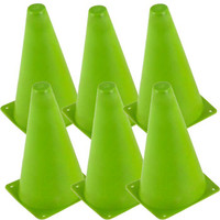 Saddles Tack Horse Supplies - ChickSaddlery.com 9 Inch High Visibility Training Cones - Set of Six <>