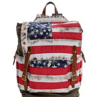 Olive Road Trippin Round The Usa Backpack