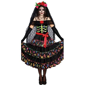 Sexy Lady of the Dead Women's Costume