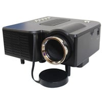 Portable mini Projector HD1080P Home Multimedia LED Mini Theater projector 110V Black