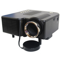 Portable mini Projector HD1080P Home Multimedia LED Mini Theater projector 220V Black