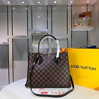 LV Louis Vuitton DAMIER CANVAS Kensington HANDBAG SHOULDER BAG
