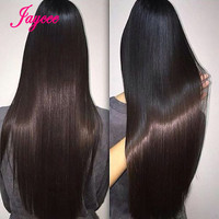 10A Grade Virgin Unprocessed Human Hair Brazilian Straight Virgin Hair 4 Bundles Straight Hair Straight Bundles Tissage Bresilie