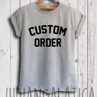 custom personalized shirt custom shirt tshirt unisex size