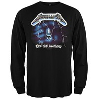 Metallica - Ride The Lightning Long Sleeve T-Shirt