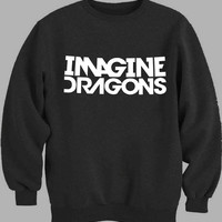 Imagine Dragons White Sweater for Mens Sweater and Womens Sweater *