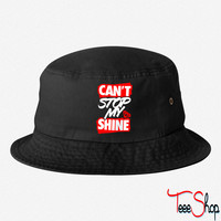 Can't Stop My Shine bucket hat