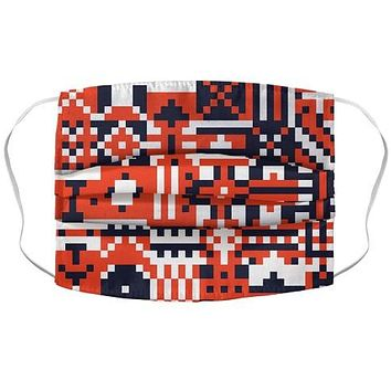 Square Pixel Pattern Face Mask Cover