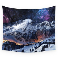 Society6 Mountain CALM IN Space View Wall Tapestry