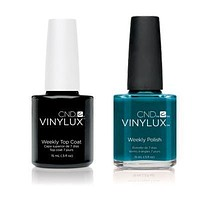 CND - Vinylux Topcoat & Splash Of Teal 0.5 oz - #247
