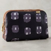 Kestrel Side-by-Side Cosmetic Case in Navy Size: One Size Accessories