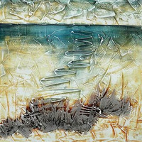 Below the Watery Surface Canvas Wall Art