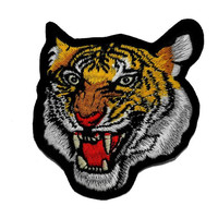 Realistic Tiger Zoo Safari Animal Wildlife DIY Applique Embroidered Sew Iron on Patch