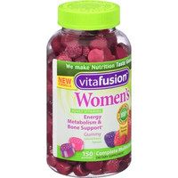 Vitafusion Women's Gummy Vitamins Complete MultiVitamin Formula, 150 count