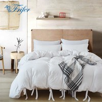 Twin/Queen/King White Bedroom Comforter Bedding Sets Bed Quilt Sheets Set Bedclothes Duvet Cover Bedspread Pillowcase US Size