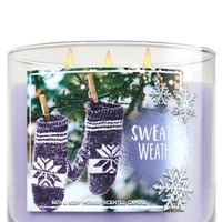 3-Wick Candle Sweater Weather