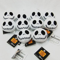 Hang Decorations The Nightmare Before Christmas Jack Plush Toys With Keychain Dolls Mini