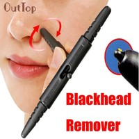 New Arrival  Pen Type Makeup Nose Extractor Stick Blackhead Remover Acne Pore Cleaner Beauty Girl M13X13