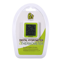 Digital Thermometer and Hygrometer for Terrariums and Aquariums