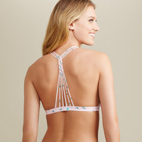 Floral Knotted Back Triangle - Aeropostale