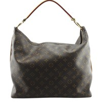 Louis Vuitton M40587 Sully MM Monogram Hobo