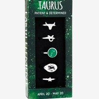 Zodiac Taurus Ring Set