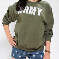 Urban Outfitters - Army Sweatshirt
