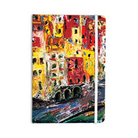 "Josh Serafin ""Cinque Terre"" Red Yellow Everything Notebook"