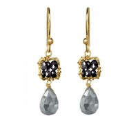 Black Spinel Earrings - Earrings - Jewelry