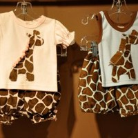 Haute Baby Girls Giraffe Bubble Short & Tank Set Available in Pink only! - Boys Infant