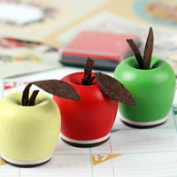 3 Apples - Rubber Stamps that say Love, Made with Love and For You