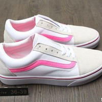 VANS casual fashion women trend sports shoes F