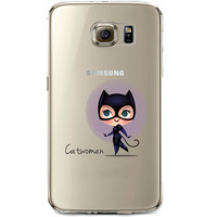 Catwoman Jelly Clear Case for Samsung Galaxy S7 Edge