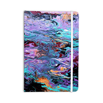 "Claire Day ""Lola"" Purple Paint Everything Notebook"